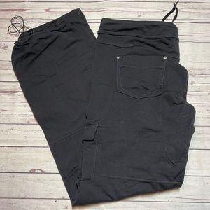 Athleta Black Athletic Casual Pants Size Large